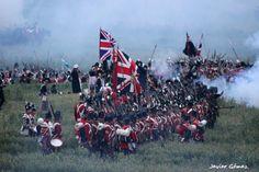 Batalla de Waterloo, recreación de la batalla (bicentenario)