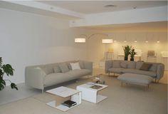 DePadova Showroom-Italy.  Yuva Sofa available at SUITE New York.