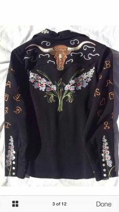 Vintage Western Wear, Vintage Cowgirl, Rodeo Shirts, Western Shirts, Funky Fashion, Vintage Fashion, Denim Art, Cowboy Outfits, Embroidered Clothes