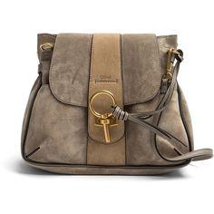 Chloé Lexa Shoulder Bag ❤ liked on Polyvore featuring bags, handbags, shoulder bags, shoulder bag handbag, chloe shoulder bag, locking purse, chloe purses and shoulder handbags