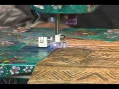 Sewing, Quilting, Wearable Art, With Creative Feet - YouTube