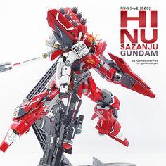 RX-93-v2 [SZS]: Hi Nu Sazanju Stein Gundam サブ画像1
