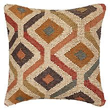 John Lewis Kelim Diamonds Cushion, Multi Online at johnlewis.com #FashionYourHome