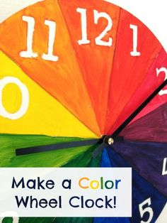 13 Art and Math Projects for Kids - The Art Curator for Kids Math Projects, Cool Art Projects, Projects For Kids, Math Crafts, Kid Crafts, Project Ideas, Craft Ideas, Color Wheel Projects, Art Room Posters