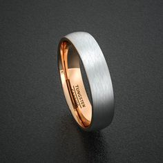 Mens Wedding Band Tungsten Ring Two Tone 6mm Brushed by Sydneykimi  YOUR WEDDING INSPIRATION GUIDE IS WAITING FOR YOU...