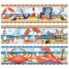 Easy Paintings, Washi, Bookmarks, Quilt Patterns, Decoupage, Paper Crafts, Quilts, Beach, Cards