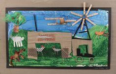 really cool farm collages Art Education, Teacher Education, School Teacher, Primary School, Australian Art For Kids, Art School, School Craft, Farm Art, Kindergarten Art