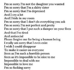 Depression Quotes And Sayings About Depression - Page 29 of 30 - Twirx Familia Quotes, Suicide Quotes, Im Depressed, In My Feelings, True Quotes, Im Fine Quotes, How I Feel, Deep Thoughts, Texts