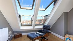 """Loft conversion or Garage conversion services in Kingston from the local company """"Taged Builders"""" Loft Conversion Victorian Terrace, Terraced House Loft Conversion, Loft Conversion Balcony, Loft Conversion Bedroom, Attic Conversion Layout, Loft Conversion Layout, Loft Conversion Gallery, Loft Conversions, Loft Room"""