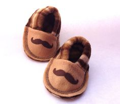 Baby Boy Shoes Mustache Infant Crib Shoes by MoJosCozyToes on Etsy, $29.00 Baby Crib Shoes, Cute Baby Shoes, Twin Girls, Baby Cribs, Mustache, Larry, Cute Babies, Fun Stuff, Twins