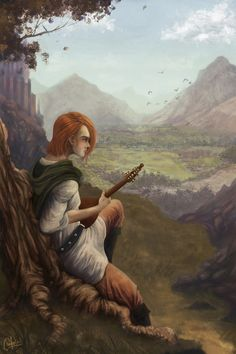 Kvothe by Ignacio Morales / igmorales.tumblr.com | LIKE Eolian Tavern on Facebook at www.facebook.com/eoliantavern! Fantasy Heroes, World Of Fantasy, Fantasy Rpg, Medieval Fantasy, Character Creation, Character Art, Character Design, The Kingkiller Chronicles, Dnd Classes