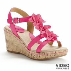 SONOMA life + style Platform Wedge Sandals - Women