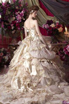 Color Wedding Dresses By Stella De Libero