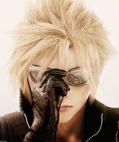 Cloud Strife (Advent Children) - Final Fantasy Character Portraits [4/∞]