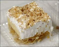 Kataifi Ekmek. The. Best. Greek. Dessert. EVER. I make this and my Greek husband LOVES it. This is not my recipe, but the closest I've found here on pinterest.