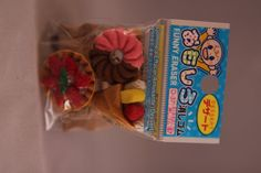 Kawaii food earsers by Lovelovecrafts on Etsy, $2.00
