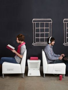 Lounge Furniture With Outlets Google Search Office Design Library