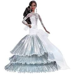 Just what you have been waiting for, a list of Black Barbie Dolls. This isn't just any list, it's a list of African American Barbie Dolls by year from 1966 to now. Black Barbie, Mattel Barbie, Barbie Dolls, Diva Dolls, Dolls Dolls, Beatrix Potter, Betty Boop, Green Evening Gowns, Barbie Website