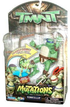 Teenage Mutant Ninja Turtles Donatello Action Figure Teenage Mutant Ninja Turtles http://www.amazon.com/dp/B002KG86EE/ref=cm_sw_r_pi_dp_omequb16N6EB1