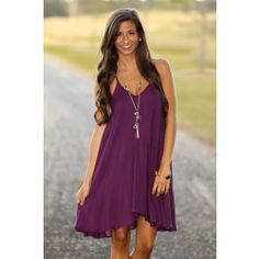 Traveling For Miles Dress-Plum - $42.00. Love this one!