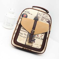 11.48$  Watch now - http://aliwb6.shopchina.info/go.php?t=32788842806 - Tower New Design Canvas Women Backpack College Student School Bags For Girls Leisure Backpack   LXX9  #magazineonline