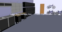 Garage Cabinets made from Steel http://www.carguygarage.com/sandstone-metal-cabinets.html