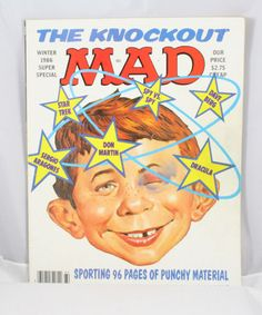 Mad Magazine Winter Special 1986 by cebcollectibles on Etsy, $6.00