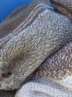 ...'soft and seamless'.... handwoven as a tube; cashmere by Helena Loermans