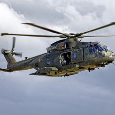 RAF AugustaWestland Merlin HC.3 Helicopter, ZJ123