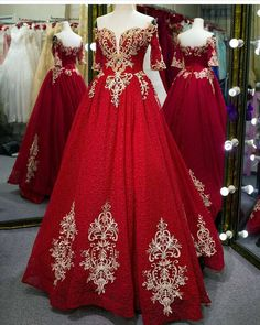 Indian bridal dress red wedding dressses brides 30 ideas for 2019 Wedding Dressses, Red Wedding Dresses, Bridal Dresses, Prom Dresses, Red Lace Prom Dress, Burgundy Evening Dress, Dress Red, Muslim Evening Dresses, Cheap Evening Dresses