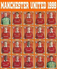 Old School Panini: Manchester Utd vs Bayern München in 1999 Manchester United Gifts, Manchester United Wallpaper, Manchester United Legends, Manchester United Players, Manchester City, Classic Football Shirts, Best Football Team, Football Players, Football Pics