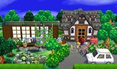 Happy Home Designer Smoker Cooking meat smoker jokes Animal Crossing Pocket Camp, Animal Crossing Qr, Post Animal, My Animal, Exterior Design, Interior And Exterior, Ac New Leaf, Happy Home Designer, Animal Games