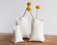 Handmade Delicate Porcelain Bud Vases