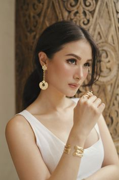 Glowy Makeup, Beauty Makeup, Hair Makeup, Heart Evangelista Style, Girl Inspiration, Makeup Inspiration, Makeup Ideas, Fashion Inspiration, Filipina Beauty