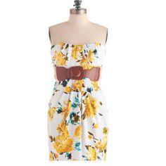 Garden Graduation dress -modcloth.com