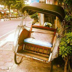 Becak!!! A ancient transport  #TagsForLikes #instalike #igers #igbest #photooftheday #picstitch #bestoftheday #instagramhub #iphonesia #instaindo #instagood #fun #lol #love #car #delirium #me