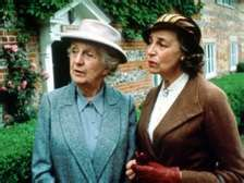 Miss Marple - Joan Hickson my favorite and her friend Dolly Bantry. Wonderful BBC series!
