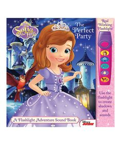 This Sofia the First: The Perfect Party Sound Board Book by Sofia the First is perfect! #zulilyfinds