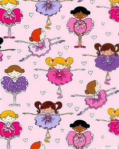 Ballet Recital - Lt Pink - at eQuilter.com