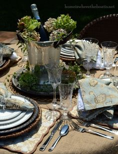 ALTERNATE WICKER CHARGERS FOR CENTERPIECE, IVYnFLOWERS