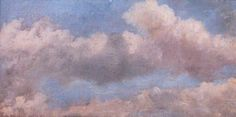 Study of Clouds by John Constable Herbert Art Gallery & Museum      Date painted: c.1821