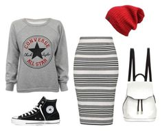 """Untitled #622"" by fashionista-shawnte on Polyvore featuring Converse, Topshop, rag & bone, women's clothing, women, female, woman, misses and juniors"