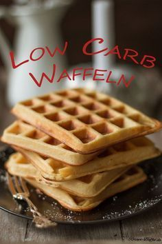 Fast keine Kohlenhydrate - Low Carb Waffeln