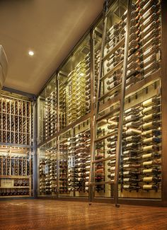 Aria Restaurant Wine Cooling Units