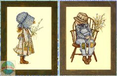 holly hobbie cross stitch pattern free - Google Search