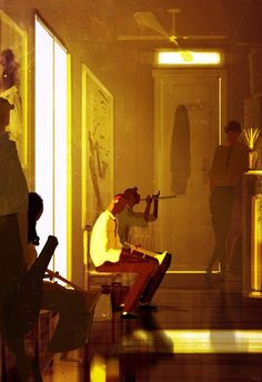 The Audition. #pascalcampionart