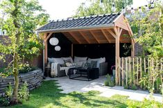 Garden Cottage, Home And Garden, Porch Veranda, Diy Terrasse, Outdoor Kitchen Bars, Backyard, Patio, Outdoor Living, Outdoor Decor