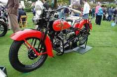 1934 Harley Davidson