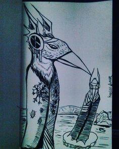 Aves tramadoras tramando uma trama.