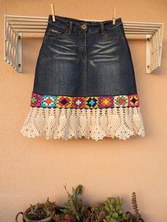 Patrón #1748: Falda de Encaje a Crochet